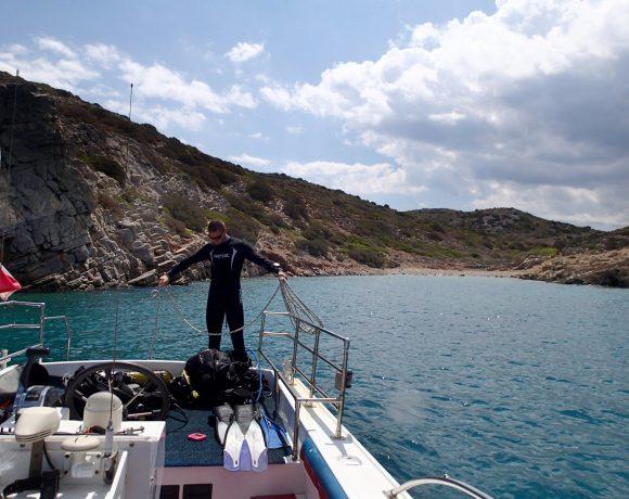 SPINALONGA Diving site