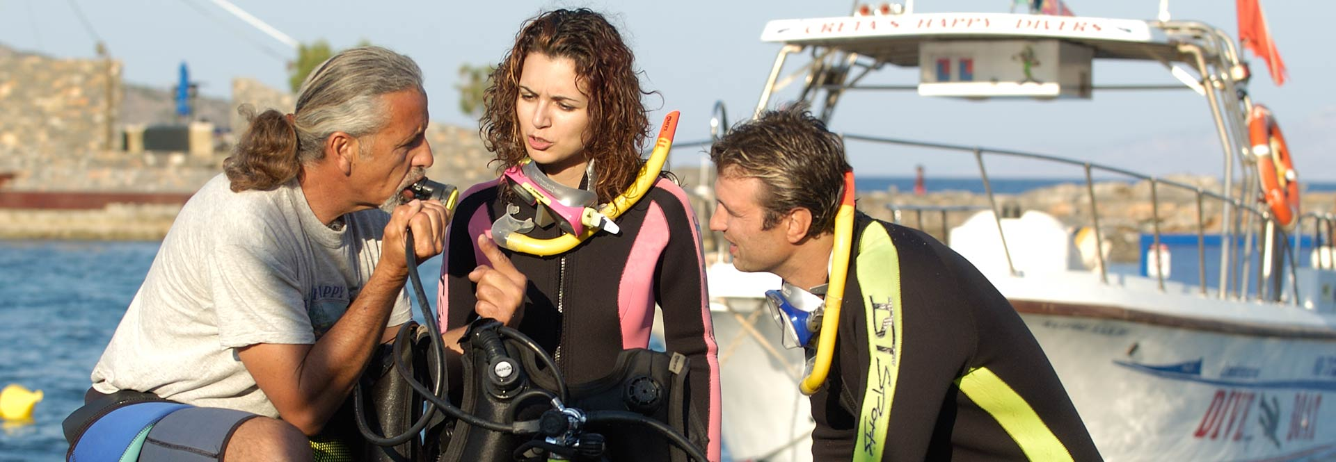 Cretas Happy Divers, Scuba diving Crete
